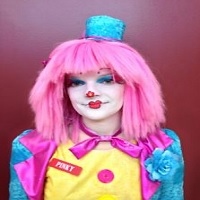 Pinky the Clown birthday party clowns in Ontario Canada